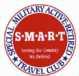 S*M*A*R*T (Special Military Active and Retired Travel) club.