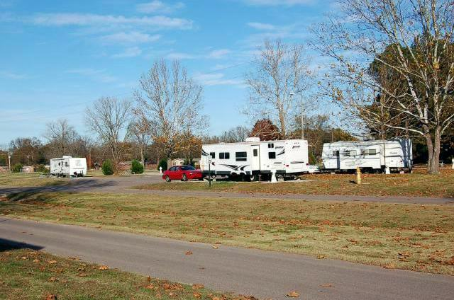Typical RV Sites