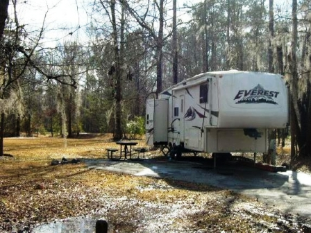 how to build a campground