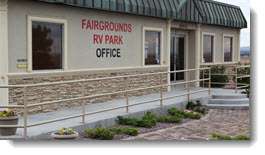Fairground RV Park Office