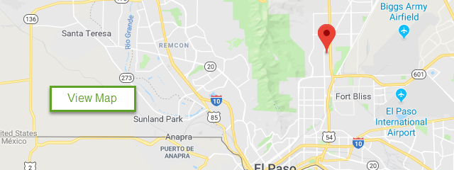 Map of Fort Bliss RV Park