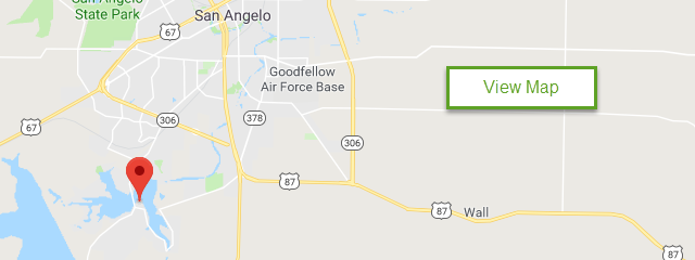 Map of Goodfellow AFB Recreation Camp