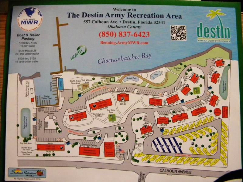 U.S. Military Campgrounds and RV Parks - Destin Army ...