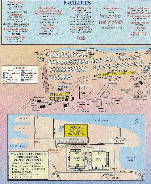 Florida Camping Map.U S Military Campgrounds And Rv Parks Naskw Campground