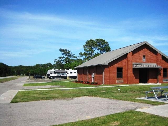 U S Military Campgrounds And Rv Parks Parris Island Rv Park
