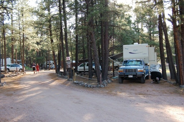 Rv Parks Near Flagstaff Az >> U.S. Military Campgrounds and RV Parks - Fort Tuthill Recreation Area