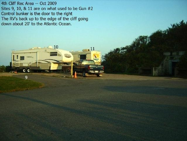 U S Military Campgrounds And Rv Parks Fourth Cliff