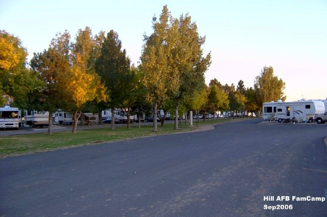 U S Military Campgrounds And Rv Parks Hill Afb Famcamp