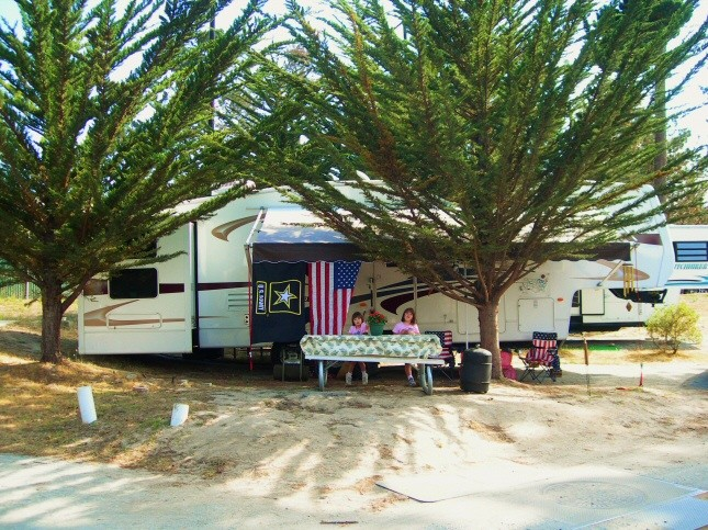 U S Military Campgrounds And Rv Parks Monterey Pines Rv