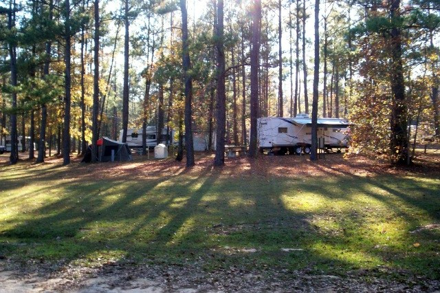 U S Military Campgrounds And Rv Parks Lake Tholocco Rv