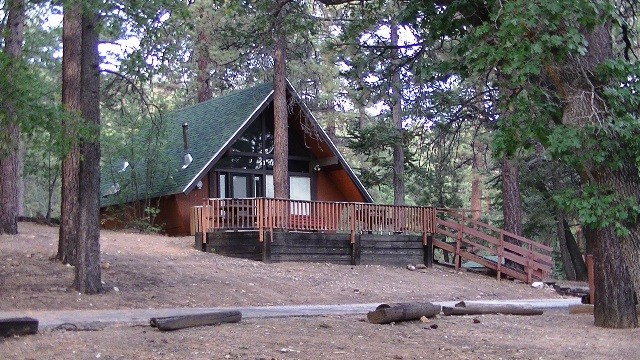 U s military campgrounds and rv parks big bear for Cabins big bear