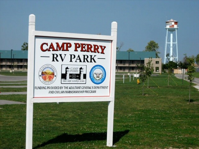 U s military campgrounds and rv parks camp perry for Camp gioia ohio cabine