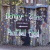 Paintball field entrance