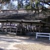 One of the large picnic pavillions