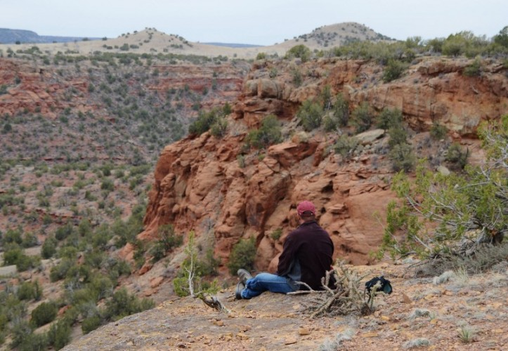 Pinon Canyon Remote Camping