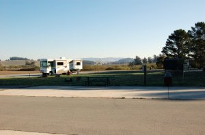 Petaluma Lake Area Campsites