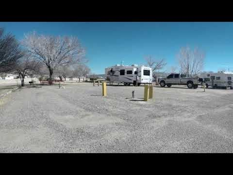 Driving Tour of Kirtland AFB FamCamp, Albuquerque, NM