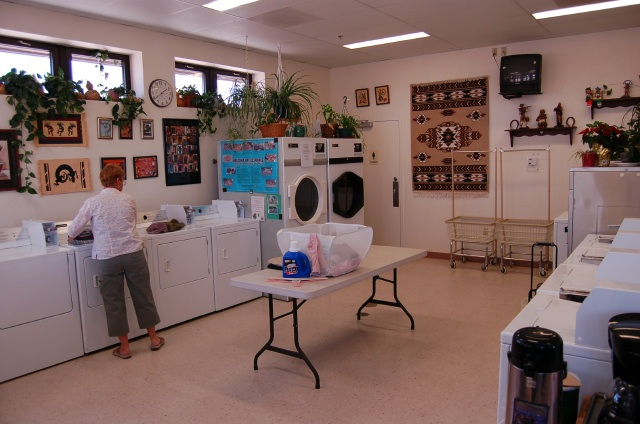 Laundry and Office