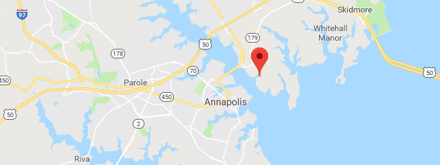 Map of Annapolis FamCamp