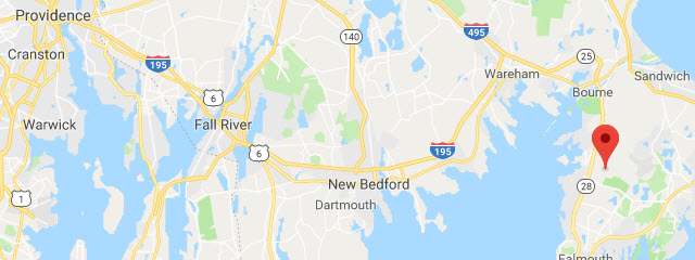 Map of USCG Cape Cod MWR RV Park
