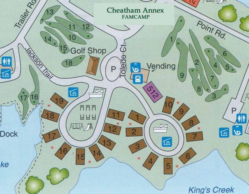 U S Military Campgrounds And Rv Parks Kings Creek Rv Campground