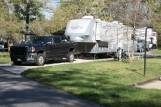U S  Military Campgrounds and RV Parks - Camp Meade RV Park