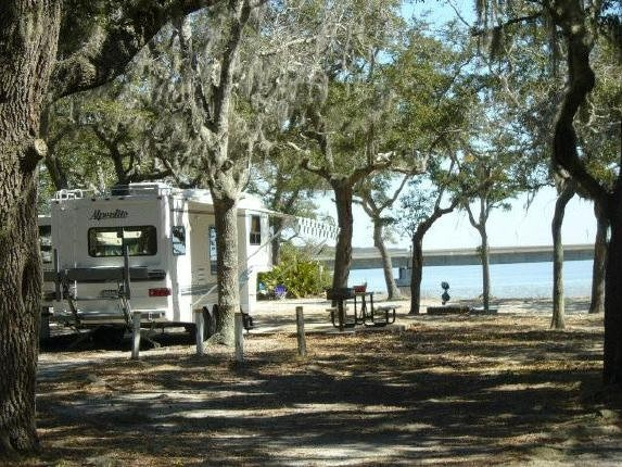 U S Military Campgrounds And Rv Parks Mid Bay Shores