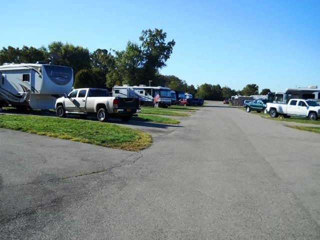 US Military Campgrounds And RV Parks WrightPatterson AFB Bass - Us military campgrounds and rv parks map