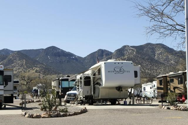 U S Military Campgrounds And Rv Parks Apache Flats Rv