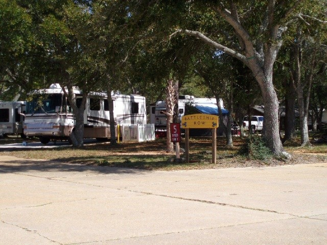 US Military Campgrounds And RV Parks Blue Angel Naval - Us military campgrounds and rv parks map