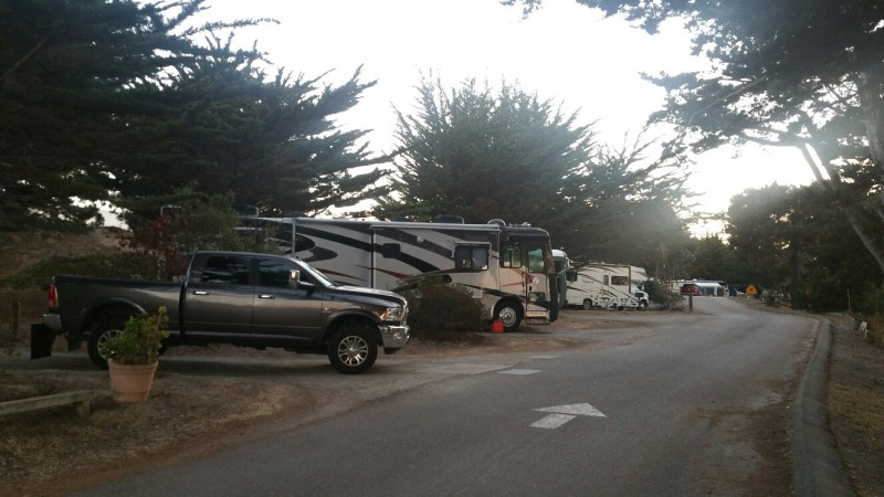 U S  Military Campgrounds and RV Parks - Monterey Pines RV Campground