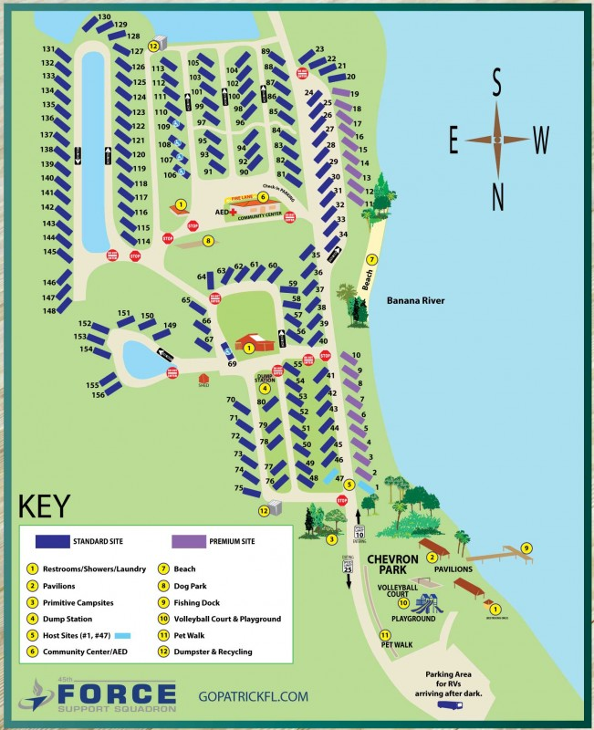 Us Military Campgrounds And Rv Parks Manatee Cove Campground - Us-camping-map