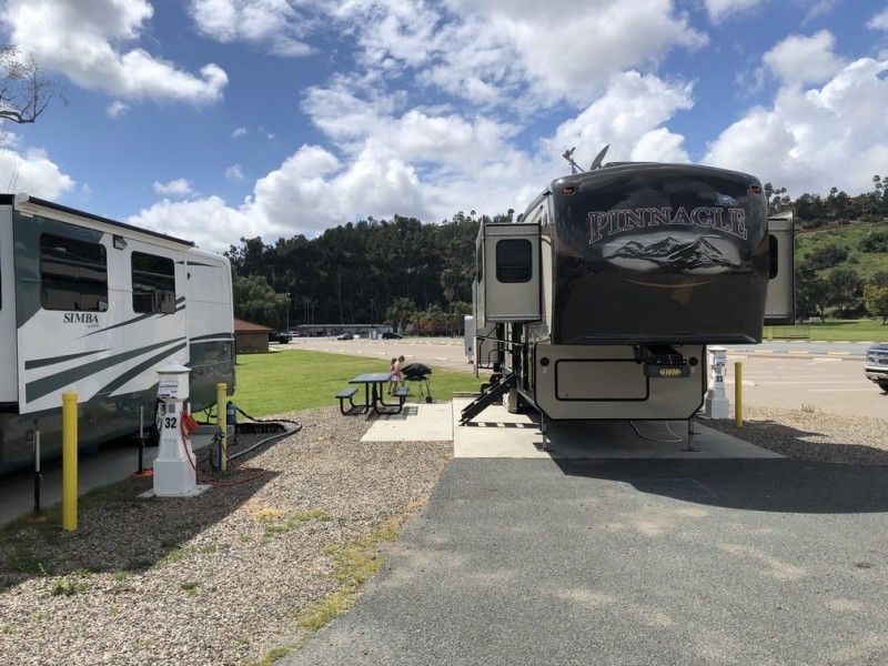 U S Military Campgrounds And Rv Parks Admiral Baker Rv Park