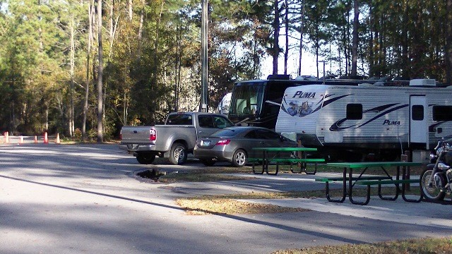 Full Hookup Campgrounds In South Carolina