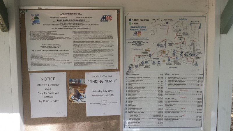 u s military campgrounds and rv parks blue angel naval