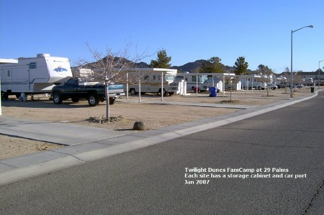 U S  Military Campgrounds and RV Parks - Twilight Dunes