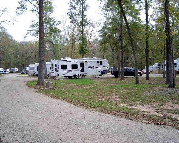 Louisiana state parks with rv hookups at truck