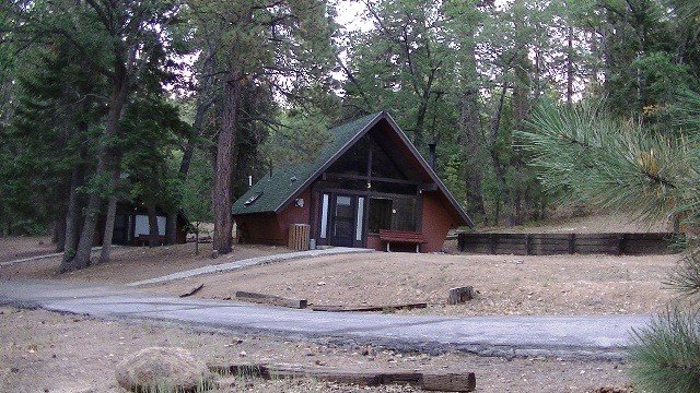 U s military campgrounds and rv parks big bear for Romantic big bear cabins
