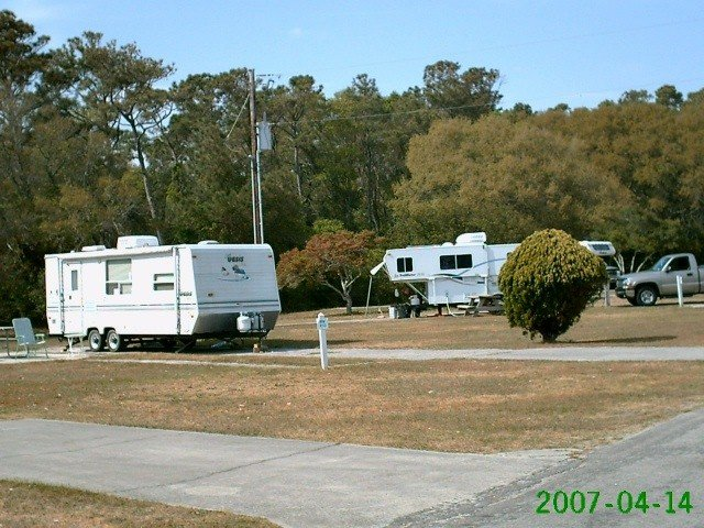 U S Military Campgrounds And Rv Parks Fort Fisher Air