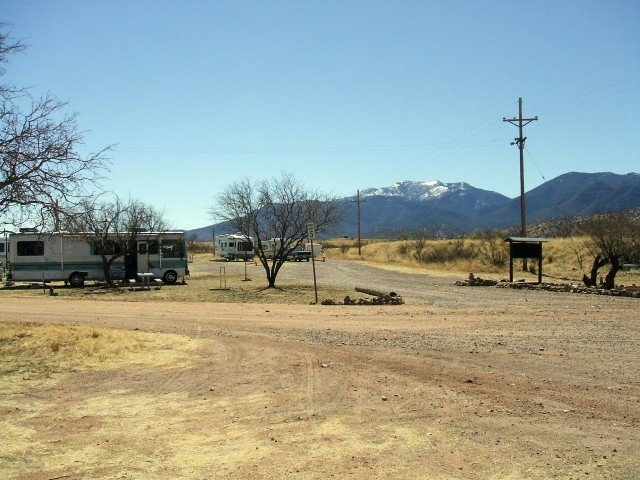 U S Military Campgrounds And Rv Parks Garden Canyon Rv Park
