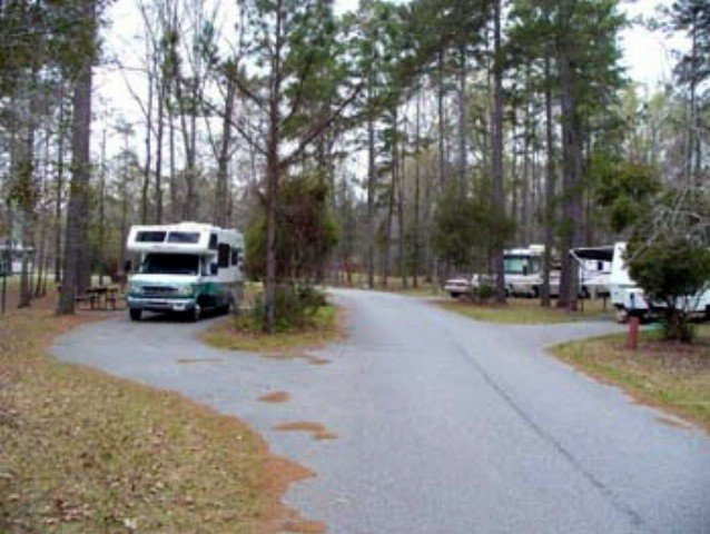 U S Military Campgrounds And Rv Parks Uchee Creek