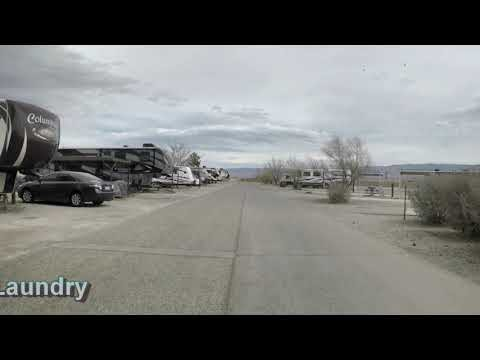 Driving Tour of Holloman AFB FamCamp, NM
