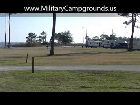 Video Tour of Postal Point FamCamp at Eglin AFB, FL
