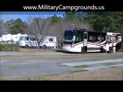 Video Tour of Foster Creek RV Park and Villas, Joint Base Charleston, SC
