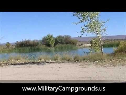 Branch Park Camping Area at Edwards AFB, CA
