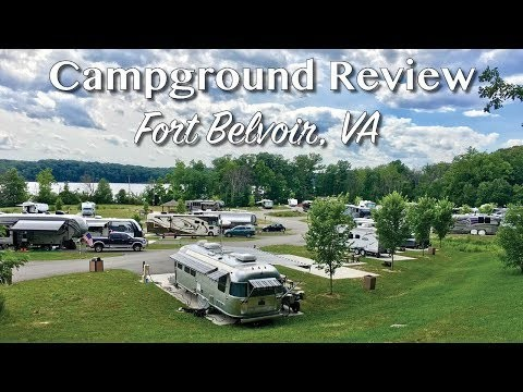 Campground Review Fort Belvoir near Washington DC