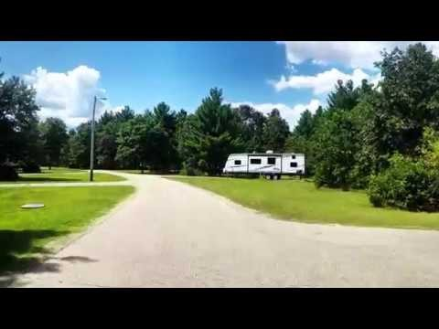 Driving Tour of Pine View Recreation Area at Fort McCoy, WI.
