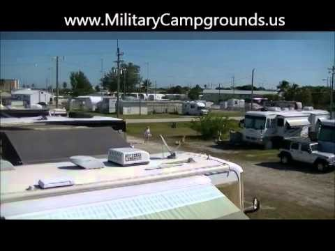 Video tour of Naval Air Station Key West RV Park, FL