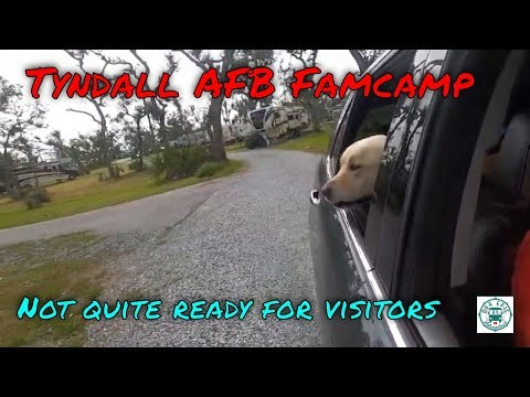 Is the Tyndall FamCamp open for business?  The road to hurricane recovery