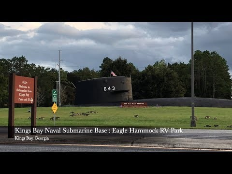 Naval Submarine Base : Eagle Hammock RV Park - Kings Bay, Georgia